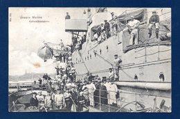 Unsere Marine. Kohlenübernahme. Marine Impériale Allemande. Chargement Du Charbon. Wilhemshaven 1908 - Régiments