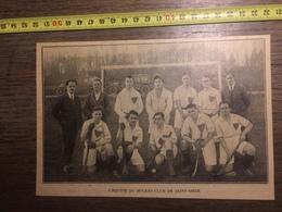 ANNEES 20/30 EQUIPE DE HOCKEY SUR GAZON DU CLUB DE SAINT OMER - Collections
