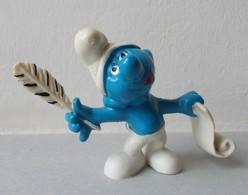 - SCHTROUMPF - Schtroumpf Poète - Peyo 1972 - - Smurfs