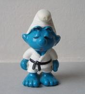 - SCHTROUMPF - Schtroumpf Judoka - Peyo 1981 - Schleich - - Smurfen
