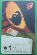 Kosovo CHIP PHONE CARD 5 EURO, Operator PTK, *CIFTELI TURKISH INSTRUMENT* 4 Edition, RARE - Kosovo