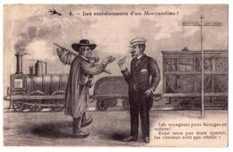 3257 - Cp Humoristique -  Les Embètements D'un Morvandiau - N°47 - L'H. - - Humour