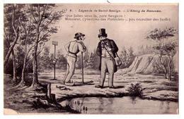 3258 - Cp Humoristique -  Légende De Saint-Saulce- L'Etang Du Ranceau - N°4 - - Humour