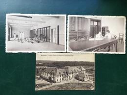 Rixensart/-Institut Médico-Pédagogique-3 Cpa -1934,2x 1948 - Rixensart