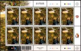 2016 Malta SEPAC Seasons - Sheetlet Of SEPAC Value - MNH**  MiNr. 1933 Trees - Gemeinschaftsausgaben