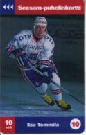 TURKU : TTLD163 10Mk Esa Tommilia (10) Hockey USED Exp: 12/97 - Finland