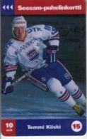 TURKU : TTLD171 10Mk Tommi Kiiski (15) Hockey USED Exp: 12/97 - Finland