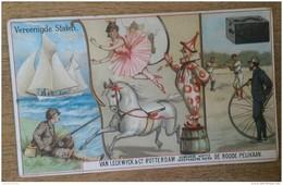 CAFÉ - VAN  LECKWYCK & Co - ROTTERDAM - DE ROODE PELIKAAN - VEREENIGDE STATEN - 12,5 X 7,5 Cm - ANVERS - Vieux Papiers