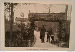 1912 VAUX DE CERNAY - CHENIL GEORGES BENOIST  - 35 X 25 Cm - Non Classés