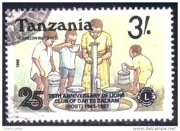 866 Tanzanie Lions Club Puits Shallow Waterwell (TZN-113) - Tanzanie (1964-...)