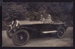 AUTOMOBILE - CAR - AUTO OLD VINTAGE POSTCARD RPPC (see Sales Conditions) - Passenger Cars