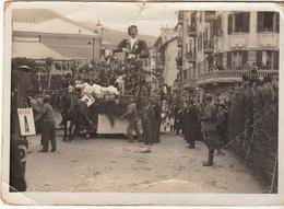 """Carnevale Di Alassio 1938 - Carro Allegorico """"Vivere"""" - Savona"""