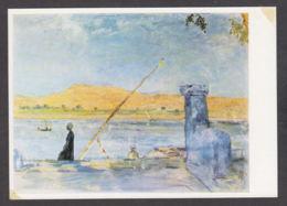 PS122/ Max SLEVOGT, *Morgen Bei Luxor*, Dresden, Staatliche Kunstsammlungen - Paintings