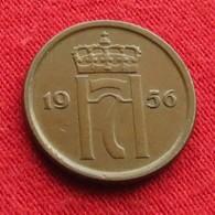 Norway 1 Ore 1956 KM# 398  Norge Noruega Norvege Norwegen Noorwegen - Norvège