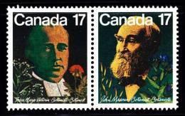 Canada (Scott No. 894-95 - Botanistes Canadiens / Canadian Botanists) [**] - 1952-.... Règne D'Elizabeth II