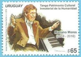 Uruguay 2018 ** Sello  Serie TANGO: Mariano Mores. - Music