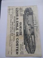 Gueuze Louis & Emile De Coster / Brasserie Le Cornet De Poste - Other