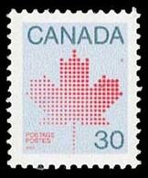 Canada (Scott No. 923b - Feuille D'érable / Maple Leaf) [**]  (12 X 12 1/2) P4 - Carnets