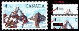 Canada (Scott No. 934iii - Glacier National Park) [**] - 1952-.... Règne D'Elizabeth II