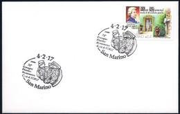 San Marino (2017) Annullo Speciale/special Postmark: Archeologia (Coperchio Di Vecchiazzano; Neolitico Medio) - Archaeology