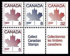 Canada (Scott No. 946 - Feuille D'érable / Maple Leaf) [**] Carnet / Booklet - Carnets