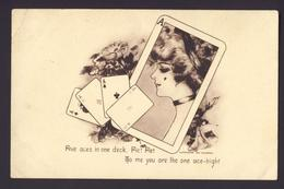 FORTUNE TELLING PLAYING CARD CARDS ~ Five Aces In One Deck Cobb Shinn A/s - Playing Cards