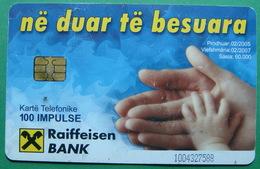 Albania CHIP CARD USED, Operator ALBTELECOM, 100 Units, 2005 - Albanië