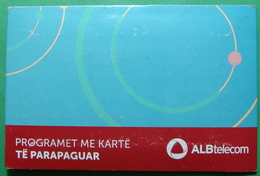 Albania GSM CHIP PHONE NUMBER WITH BOX AND BOOKLET USED, Operator ALBTELECOM - Albania