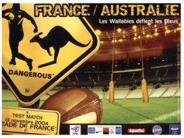 (ORL 430) France  - Rugby - France /Australie (Australia) Test Match - Stade De France - Rugby