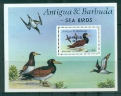 Antigua & Barbuda 1997 Brown Booby Opt Barbuda Mail MS MUH - Antigua And Barbuda (1981-...)