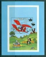 Antigua 1980 Disney, Goofy In Glider MS MUH Lot79033 - Antigua And Barbuda (1981-...)