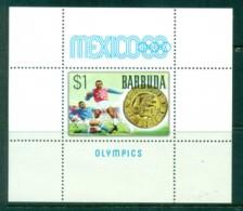 Barbuda 1968 Summer Olympics, Mexico MS MUH - Antigua And Barbuda (1981-...)