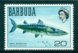Barbuda 1970 Definitive, Fish, Great Barracuda MUH - Antigua And Barbuda (1981-...)