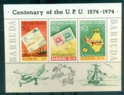 Barbuda 1974 Centenary Of UPU MS MUH Lot76373 - Antigua And Barbuda (1981-...)
