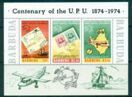 Barbuda 1974 UPU Cent. MS MUH - Antigua And Barbuda (1981-...)