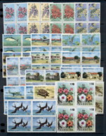 Barbuda 1974 Wildlife, Flowers, Architecture, Marine Life Blk4 MUH - Antigua And Barbuda (1981-...)