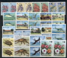 Barbuda 1974 Wildlife, Flowers, Architecture, Marine Life Pr MUH - Antigua And Barbuda (1981-...)
