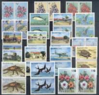 Barbuda 1974-75 Pictorials, Flowers, Views Pr MUH - Antigua And Barbuda (1981-...)