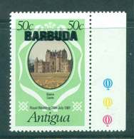 Barbuda 1981 Charles & Diana Wedding 50c Double Opt MUH Lot44786 - Antigua And Barbuda (1981-...)