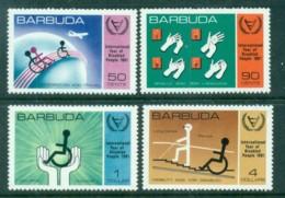 Barbuda 1981 International Year Of The Disabled MUH - Antigua And Barbuda (1981-...)