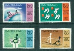Barbuda 1981 Intl. Year Of The Disabled MUH - Antigua And Barbuda (1981-...)