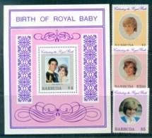 Barbuda 1982 Princess Diana 21st Birthday + MS MLH Lot81991 - Antigua And Barbuda (1981-...)