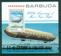 Barbuda 1983 First Manned Balloon Flight Bicentenary MS MUH - Antigua And Barbuda (1981-...)