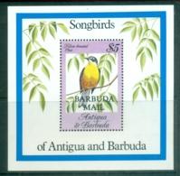 Barbuda 1984 Birds, Yellow Breasted Chat MS MUH - Antigua And Barbuda (1981-...)