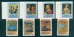Barbuda 1984 Paintings, Correggio, Degas MUH Lot81017 - Antigua And Barbuda (1981-...)