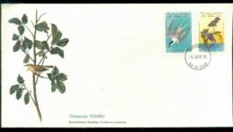 Barbuda 1985 Audubon Birds,  Franlkin Mint FDC Lot79685 - Antigua And Barbuda (1981-...)
