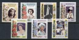 Barbuda 1985 Queen Mother 85th Birthday MUH - Antigua And Barbuda (1981-...)