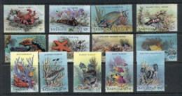 Barbuda 1987 Marine Life, Fish, Coral MUH - Antigua And Barbuda (1981-...)