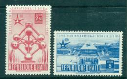 Haiti 1958 Brussels Fair MUH Lot35473 - Haiti