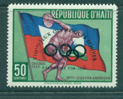 Haiti 1960 50c Olympics MLH Lot35847 - Haiti
